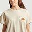 matière T-shirt oversize Peace - Être Cécile
