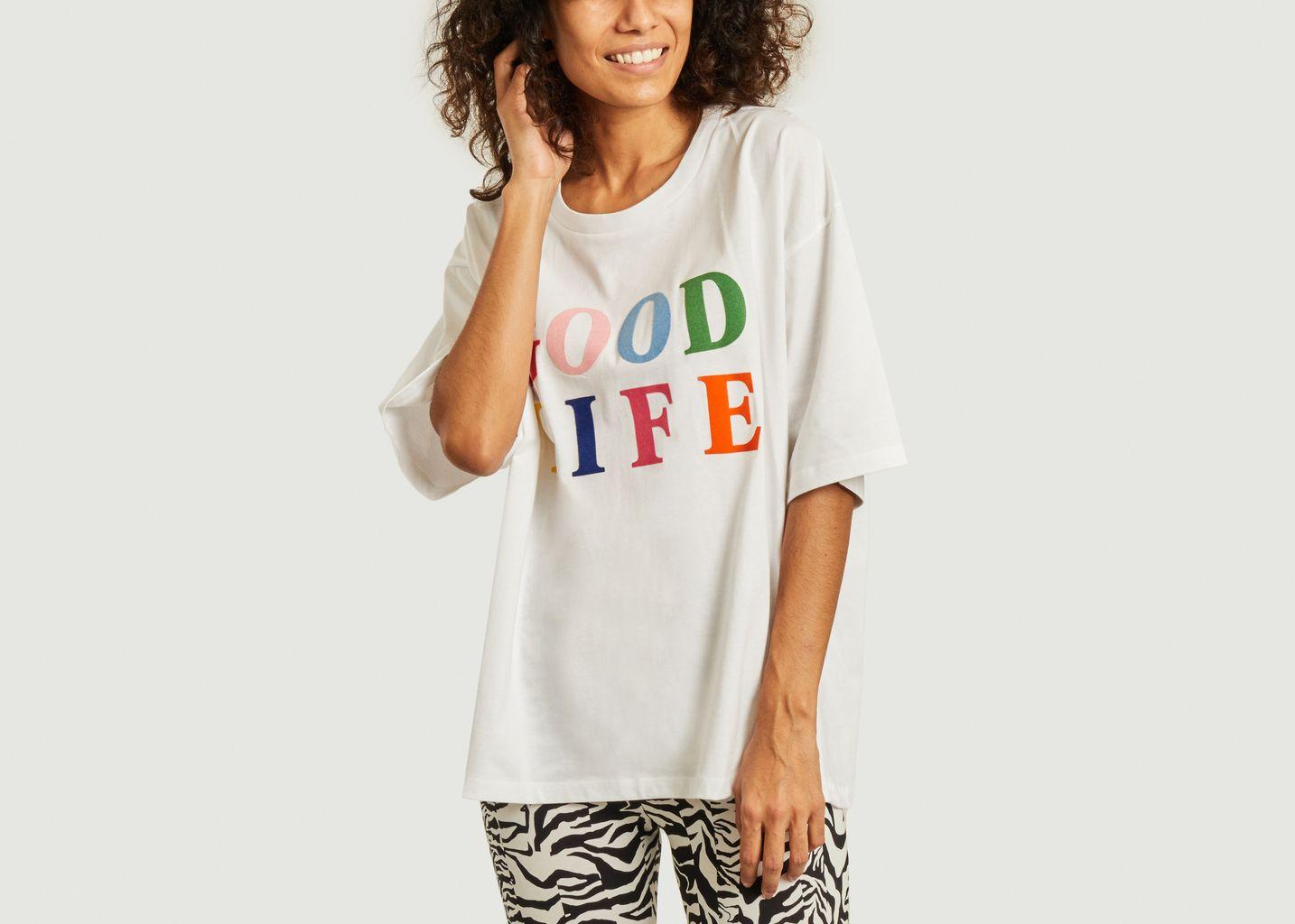T-shirt Good Life  - Être Cécile