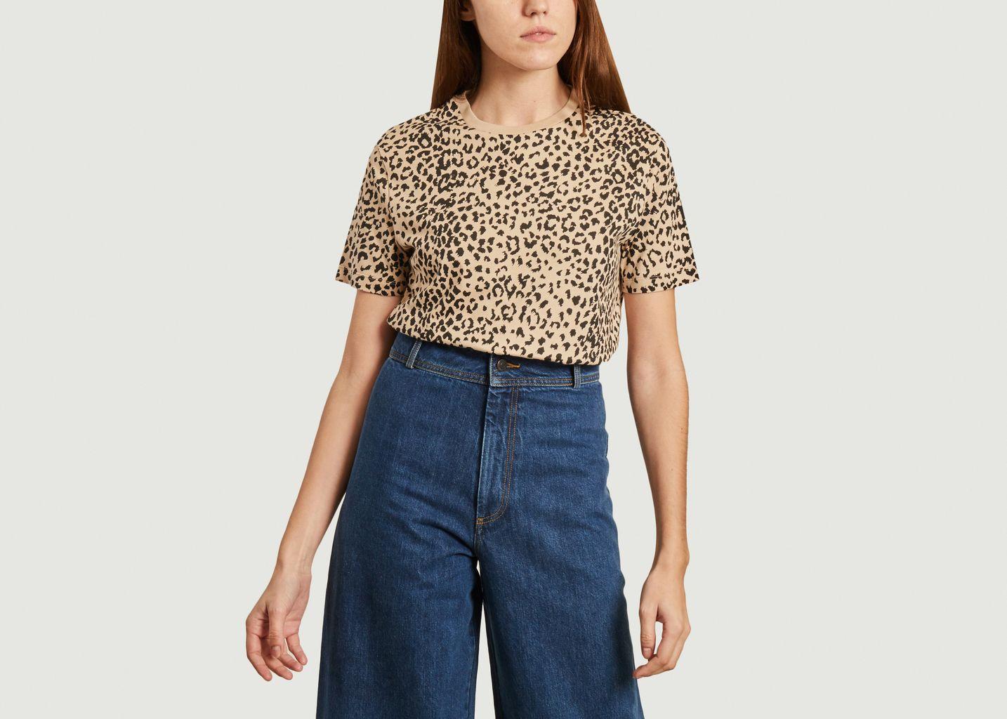T-shirt léopard - Être Cécile
