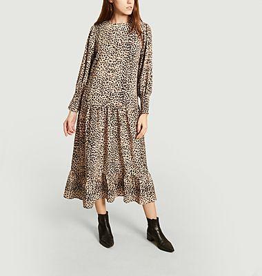 Robe Issy léopard