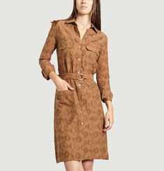 Janis Shirt Dress