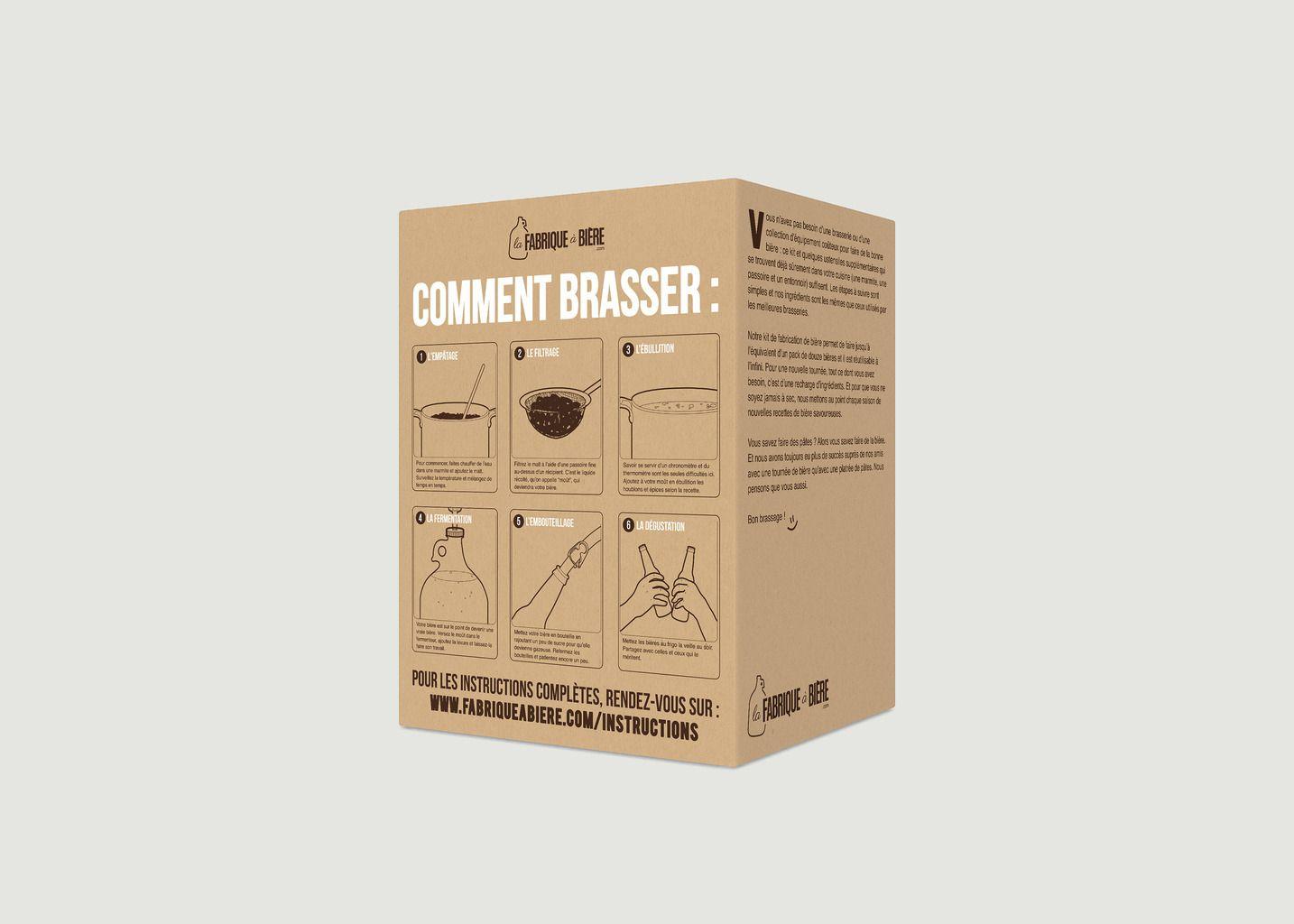 Kit de Brassage - La Belge de Noël - La Fabrique à Bière