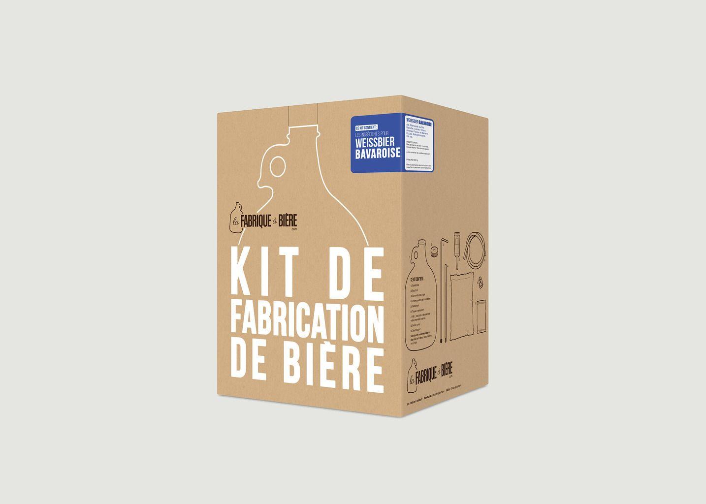 Kit de Brassage - Weissbier Bavaroise [Fabrication Rapide] - La Fabrique à Bière