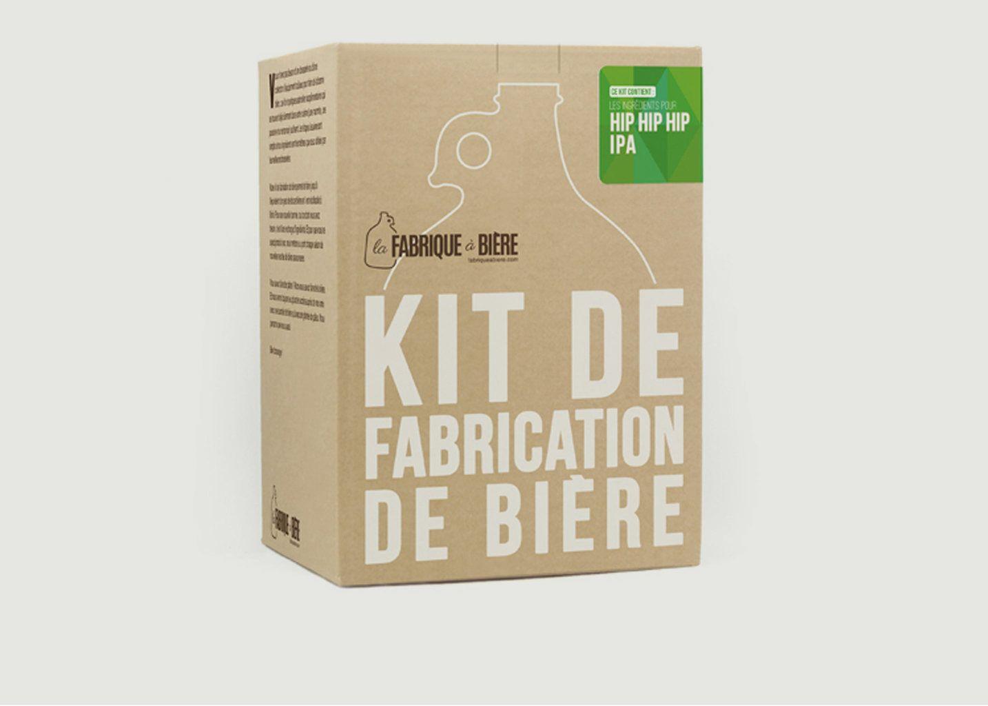 Kit de Brassage - Hiphiphip IPA - La Fabrique à Bière