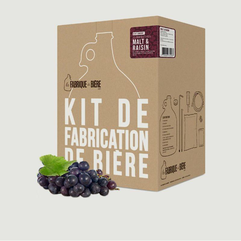 Kit de Brassage - Kit Malt & Raisin - La Fabrique à Bière