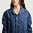 matière Robe-chemise oversize en jean Gloria - Façon Jacmin