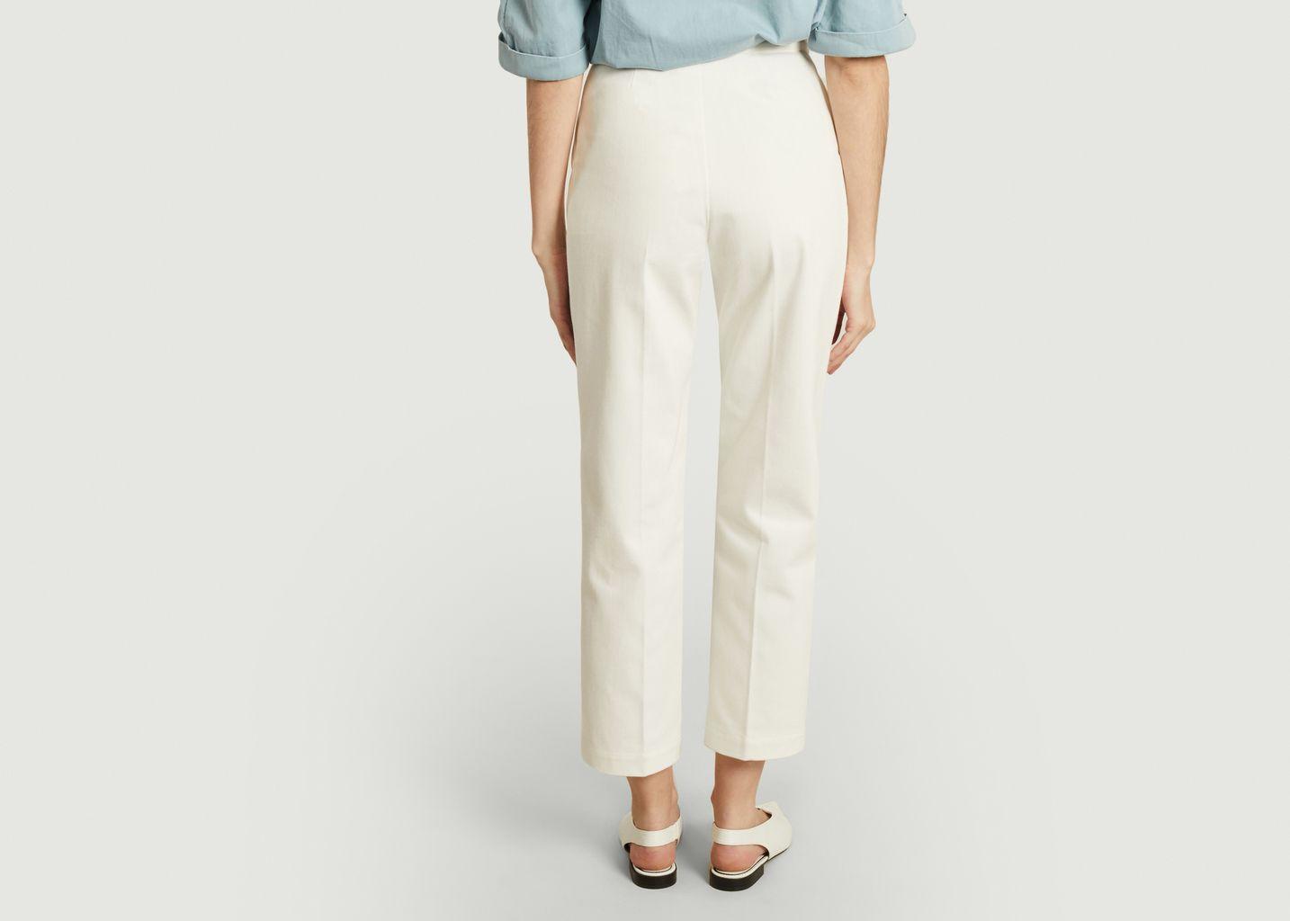 Pantalon en denim taille haute Patti - Façon Jacmin