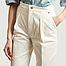 matière Pantalon en denim taille haute Patti - Façon Jacmin