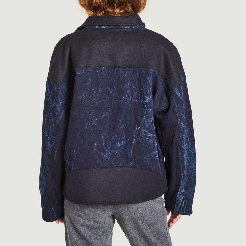 Veste ample bi-matière Vamos - Façon Jacmin
