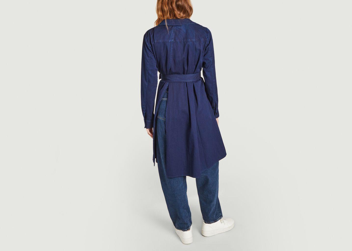Robe-tunique ceinturée manches longues Renatta - Façon Jacmin