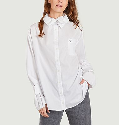 Coco shirt with double collar