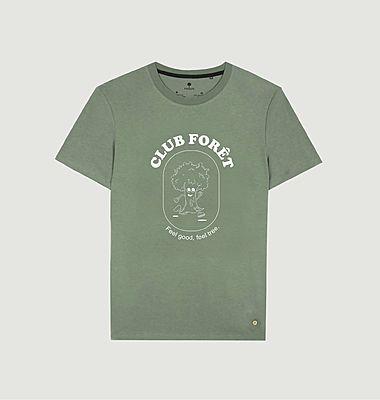 T-shirt imprimé Club Forêt Arcy