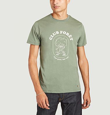 Arcy Club Forest bedrucktes T-Shirt