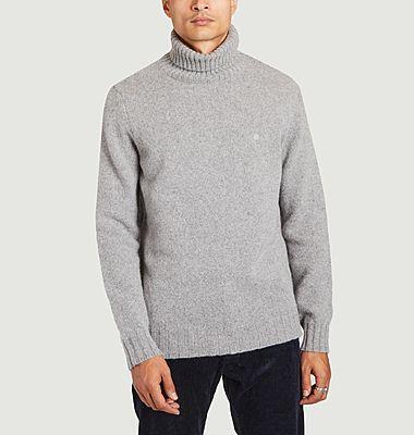 Belouve virgin wool turtleneck sweater