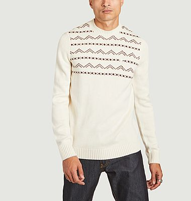 recycled wool jumper