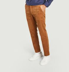 Pantalon en velours côtelé Luberon