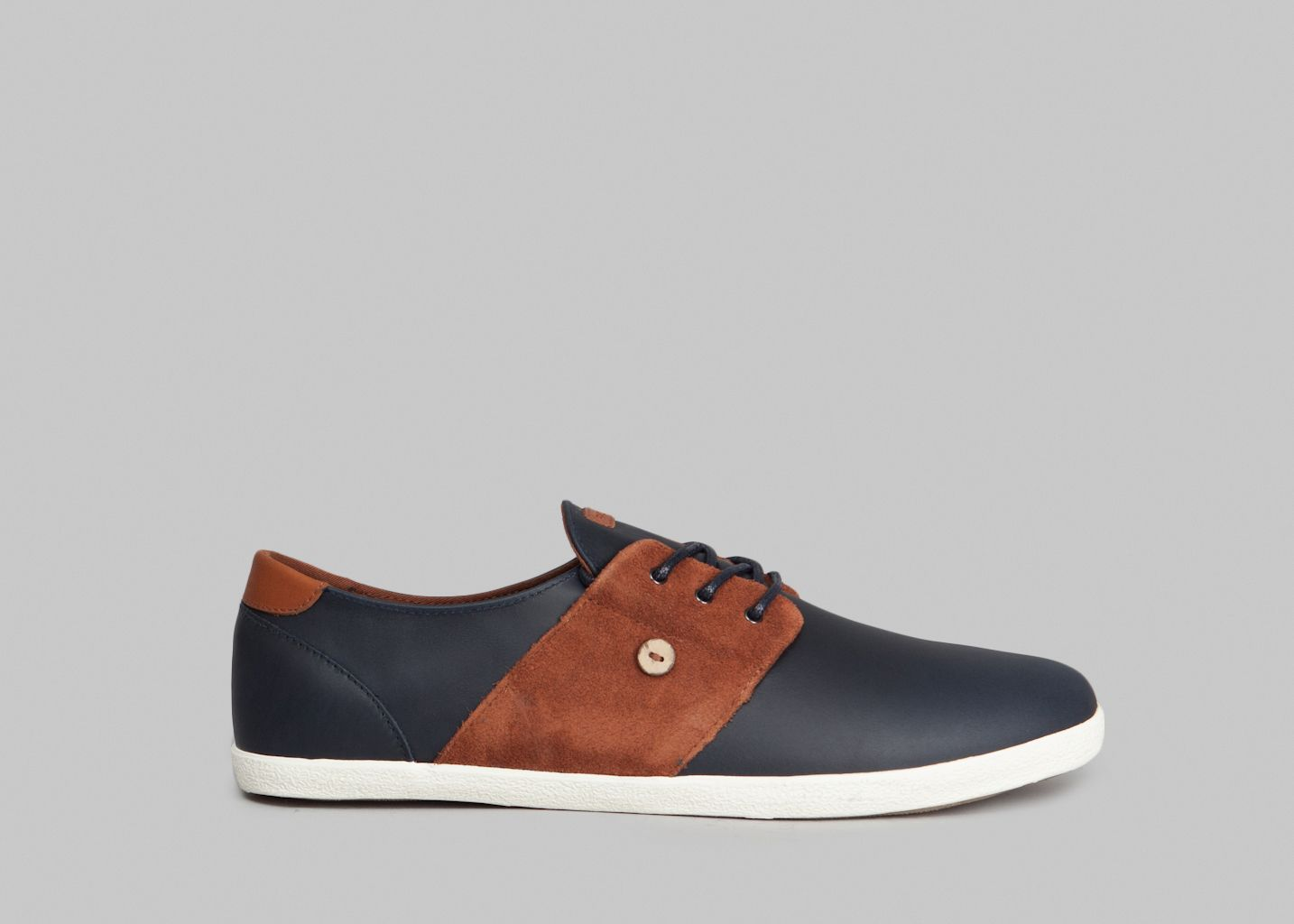 Cypress Leather Tennis Shoes - Faguo