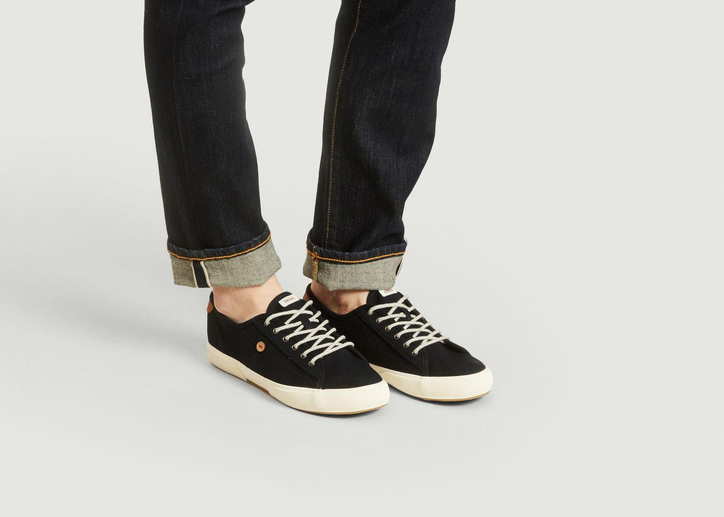 Bleu Faguo À 40 L'exception Sneakers Marine Birch Soldes SxwEqFBaB