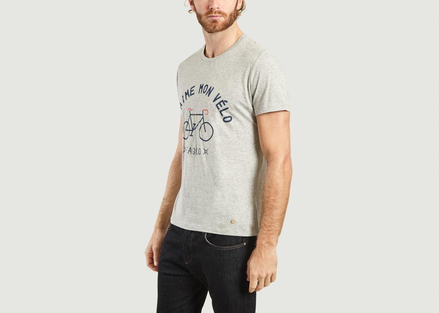 T-Shirt Acry J'aime Mon Vélo - Faguo