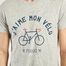 matière T-Shirt Acry J'aime Mon Vélo - Faguo