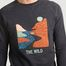 matière Sweatshirt Darney The Wild - Faguo