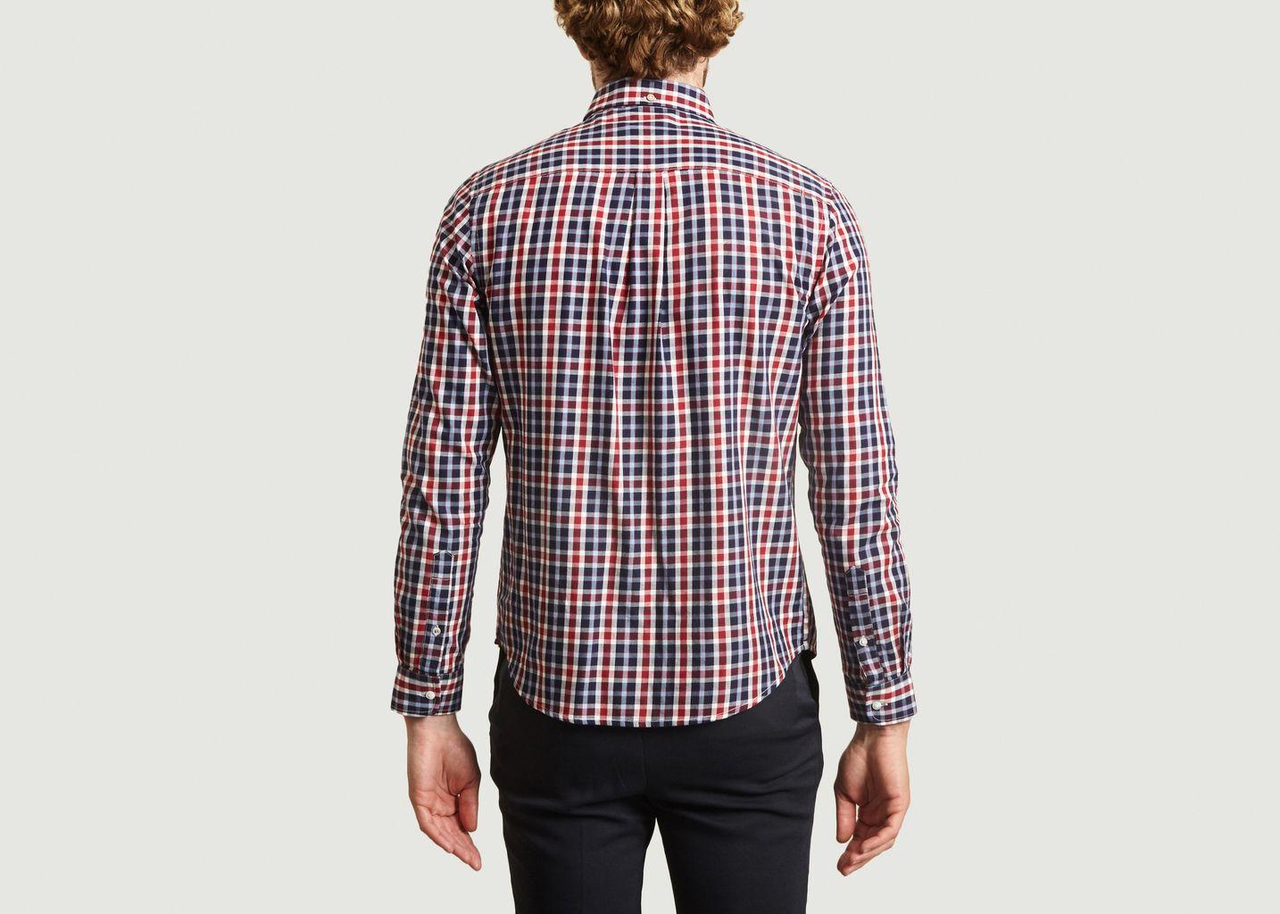 Chemise à carreaux Onca - Faguo