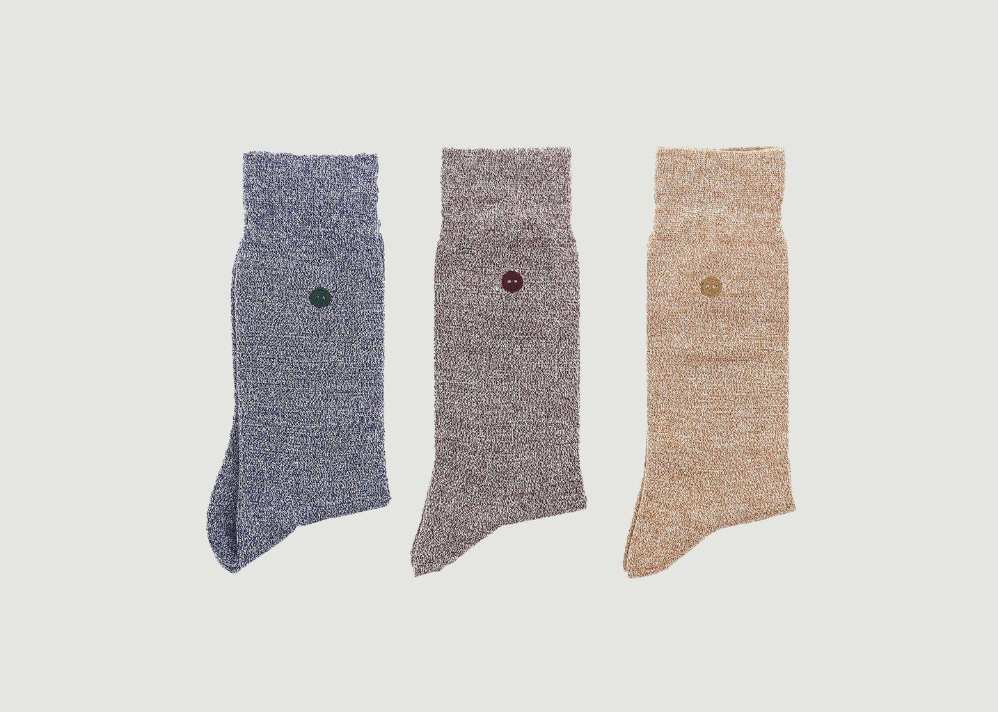 Pack de chaussettes x3 - Faguo