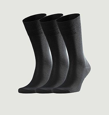 Lot de 3 paires de chaussettes Tiago