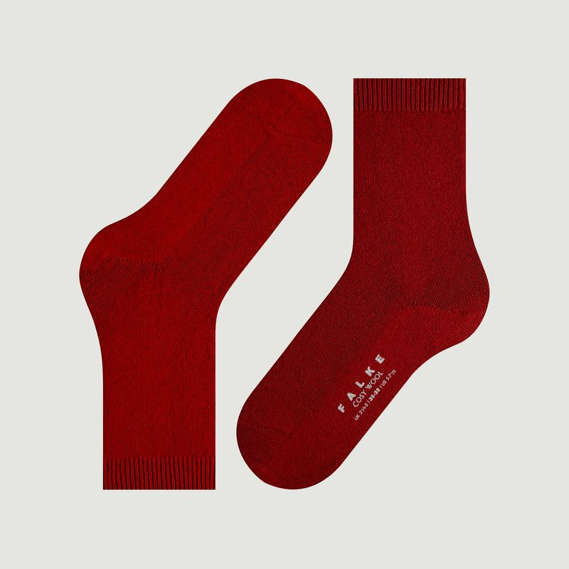 Chaussettes maille thermorégulatrice Cosy Wool - Falke