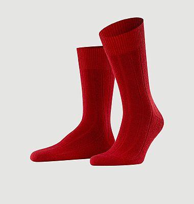 Chaussettes côtelées Lhasa