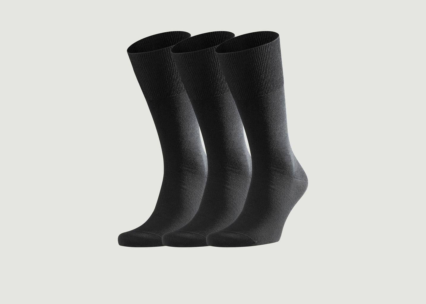 Pack de 3 paires de chaussettes Airport - Falke