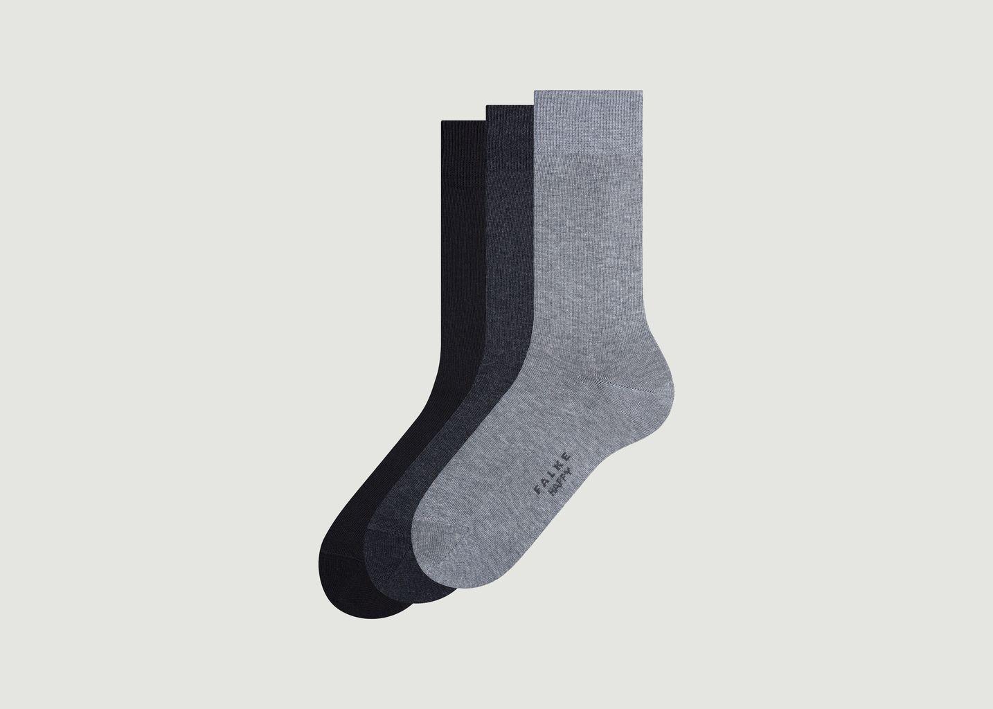 Pack de 3 paires de chaussettes Happy Box - Falke