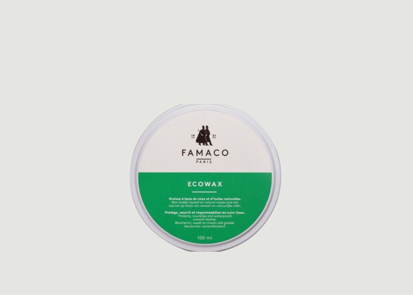 Graisse A Base De Cire Naturelle Eco Wax - Famaco Paris
