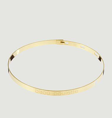 Bracelet Bisou Poulette