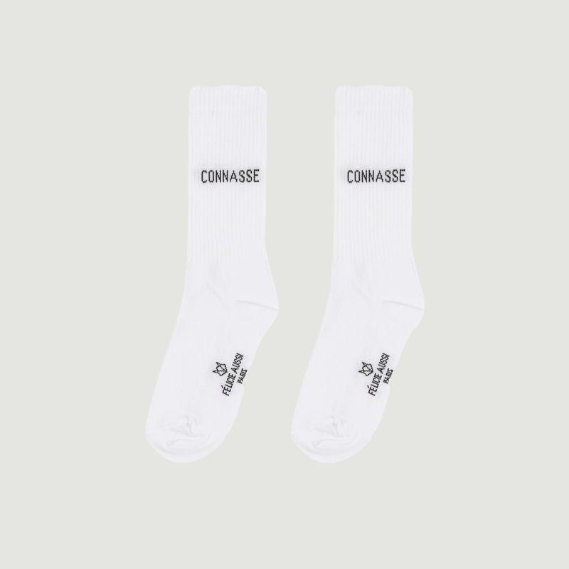 Chaussettes Côtelées Connasse - Felicie Aussi