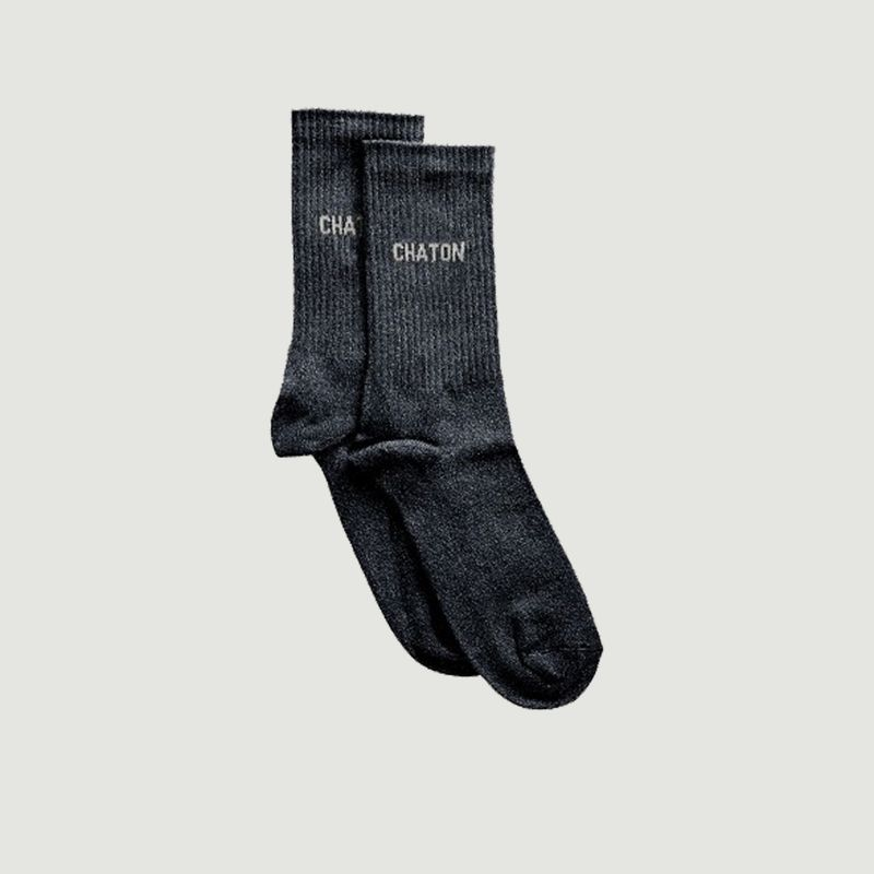 Chaussettes Côtelées Chaton - Felicie Aussi