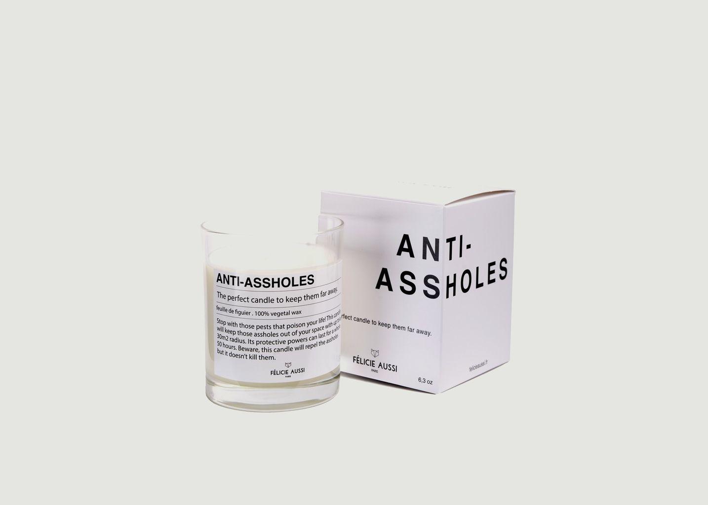 Bougie Anti-assholes - Felicie Aussi