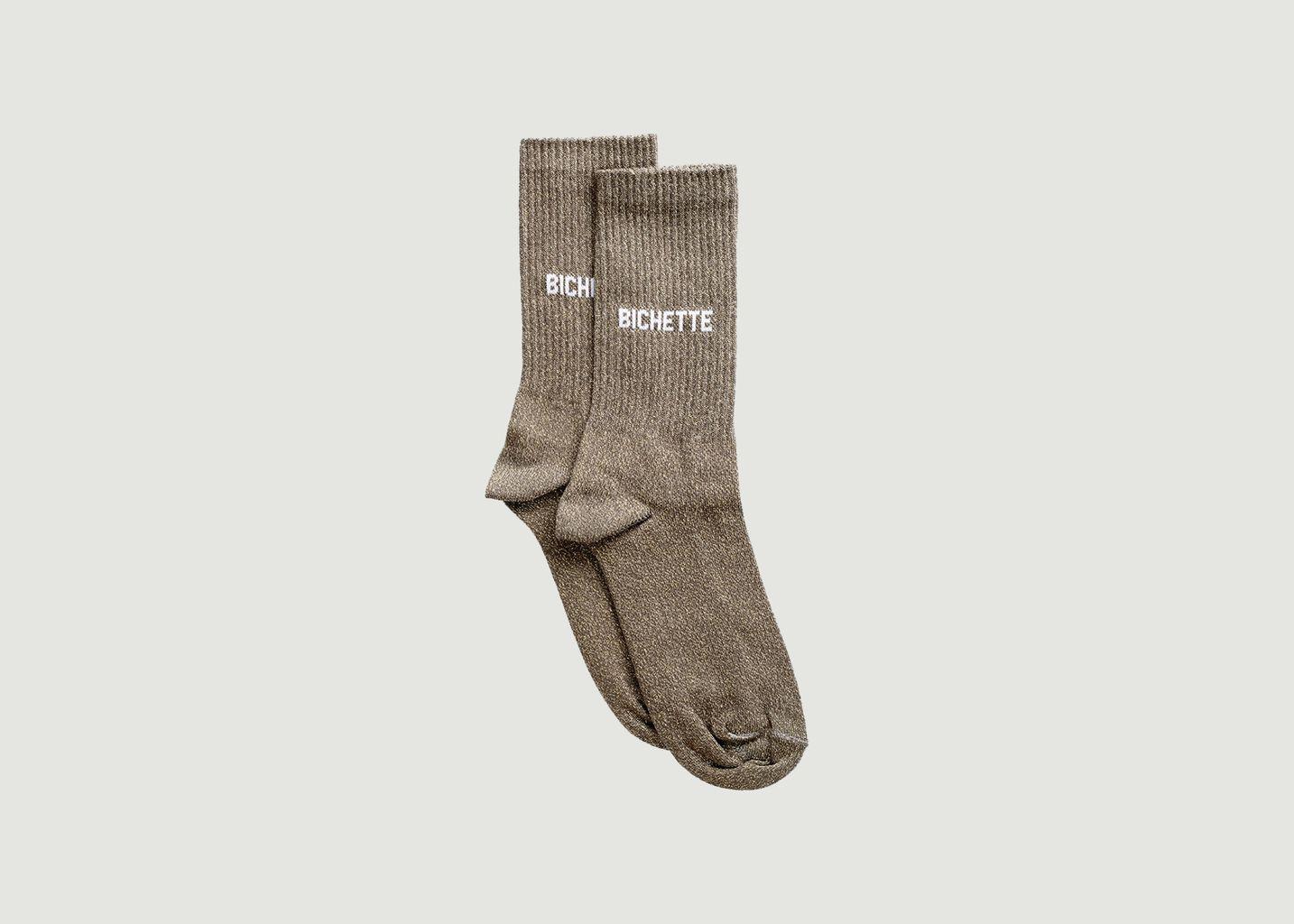 Chaussettes Côtelées Bichette - Felicie Aussi