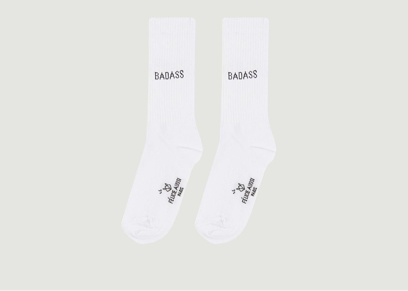 Chaussettes Côtelées Badass - Felicie Aussi