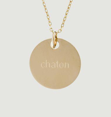 Collier Chaton