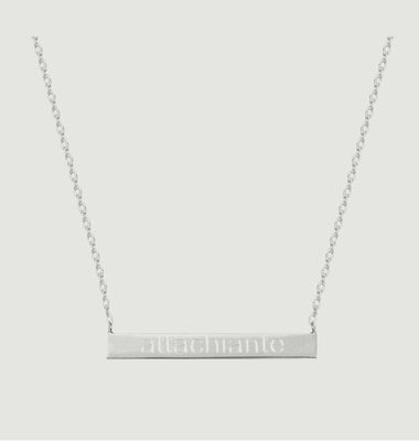 Collier Chaîne Attachiante