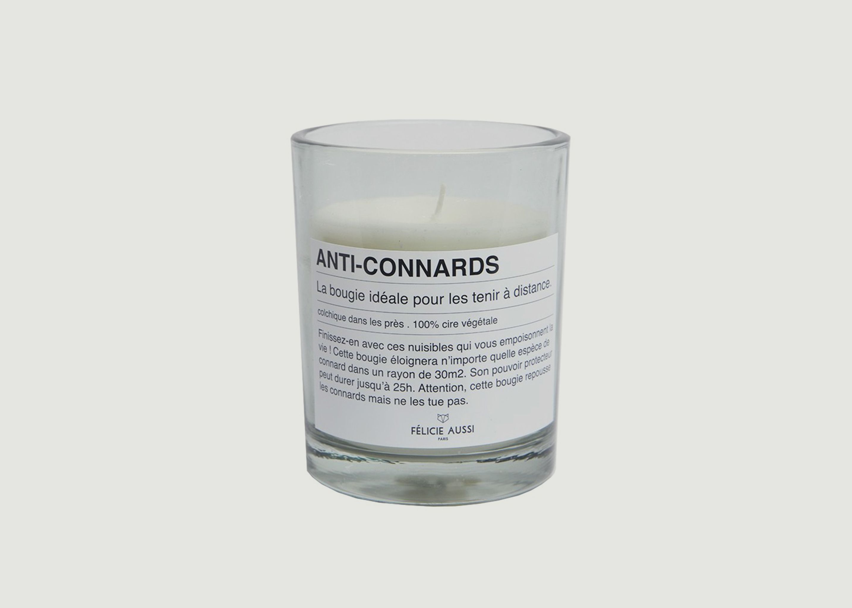 Anti Connards Candle Felicie Aussi White L\'Exception