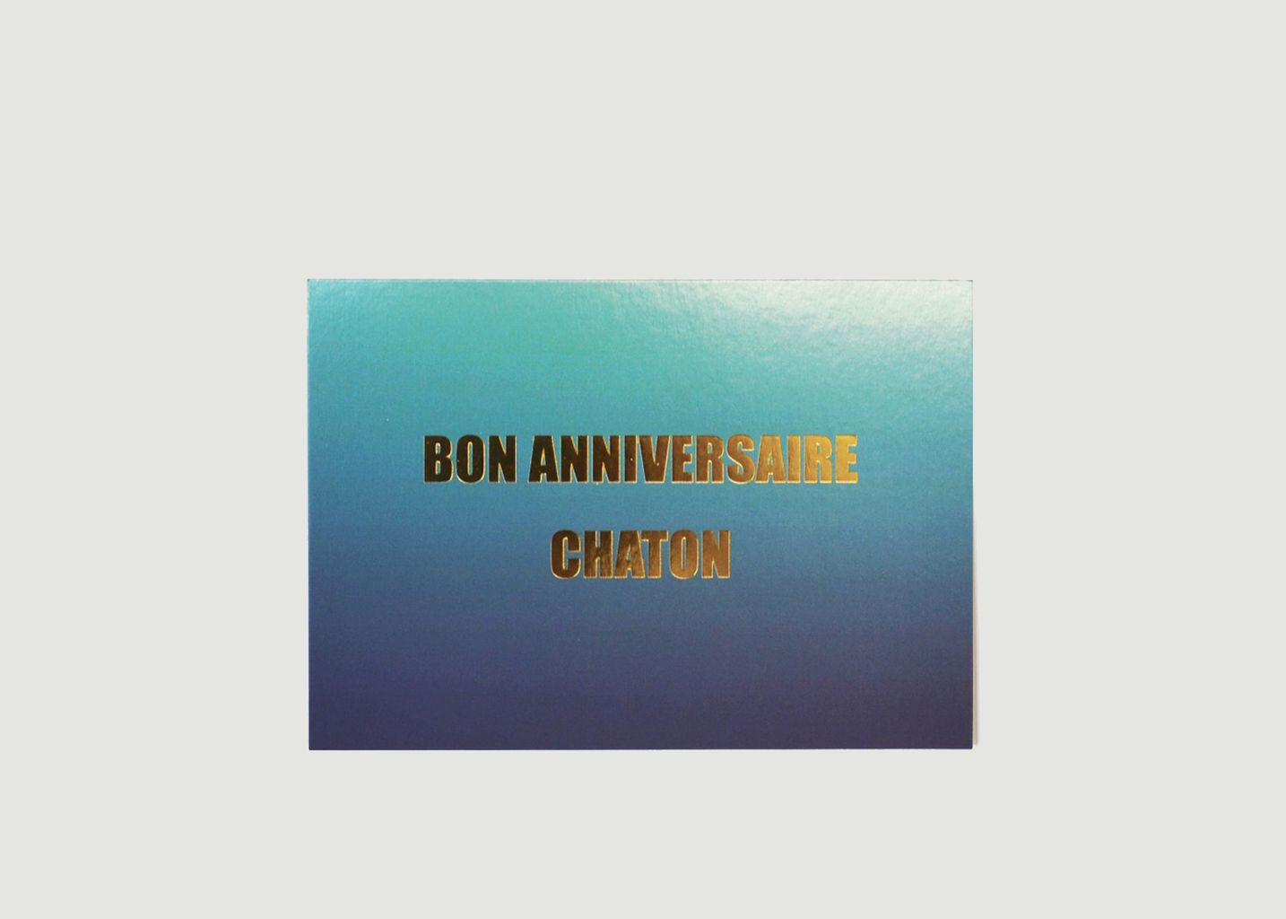 Carte Bon Anniversaire Chaton - Felicie Aussi