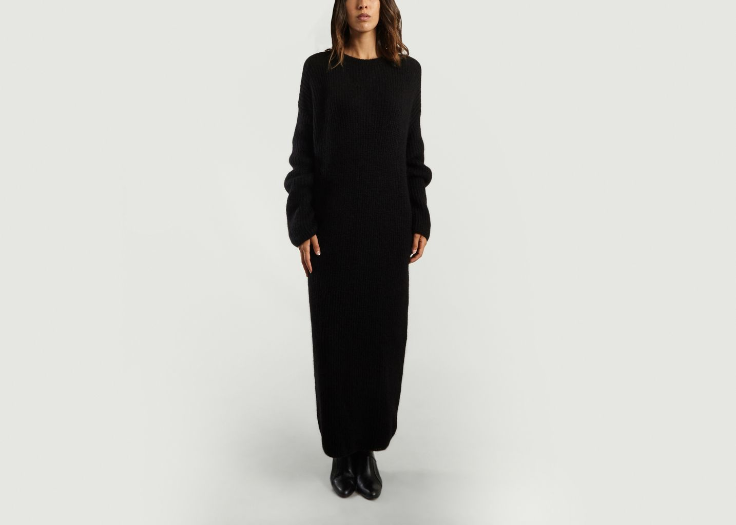 38b4148d6a Duras Jumper Dress Black Fête Impériale