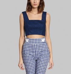 Faust Cropped Top