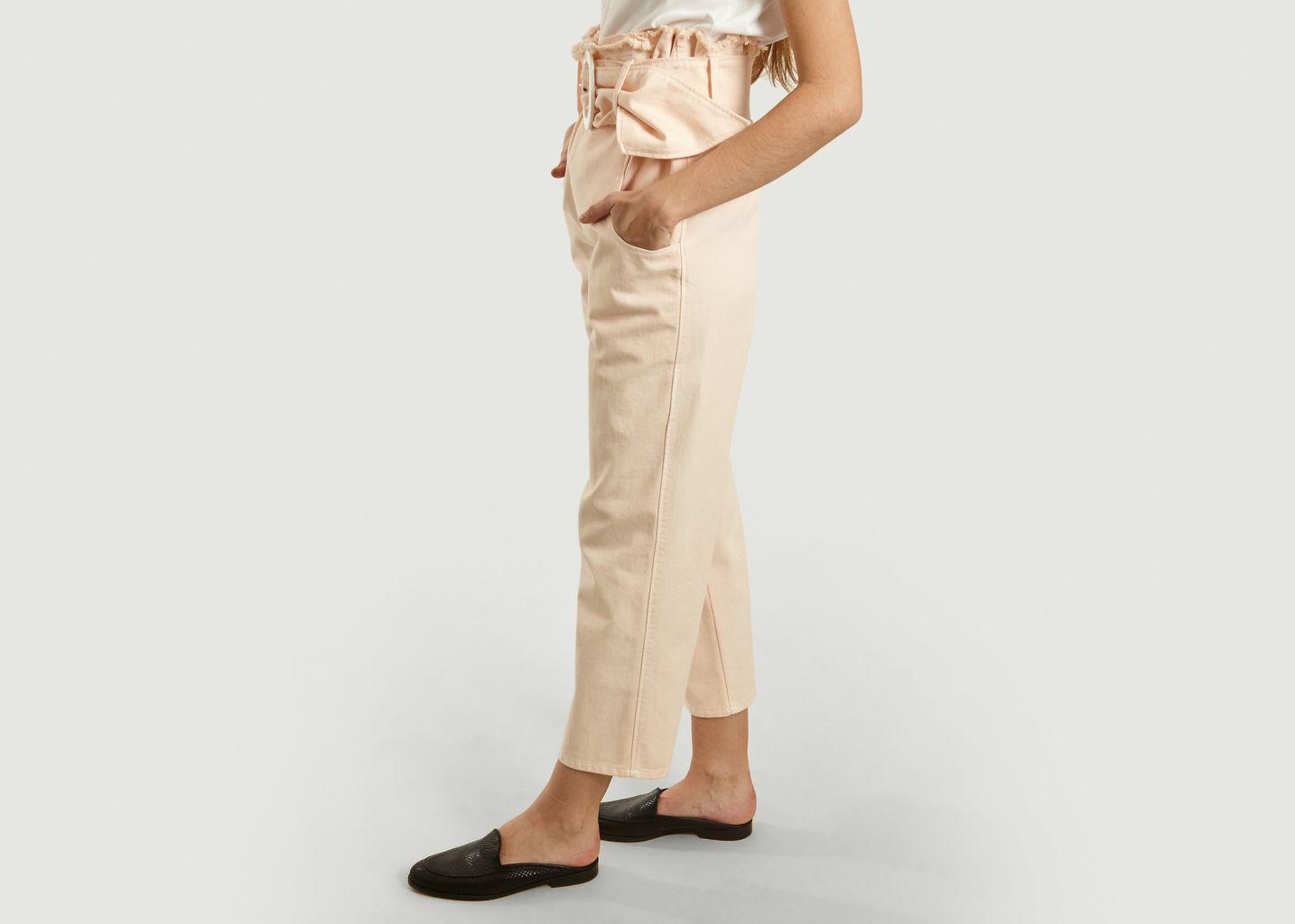Pantalon Ceinturé Taille Haute Ziggy - Fête Impériale