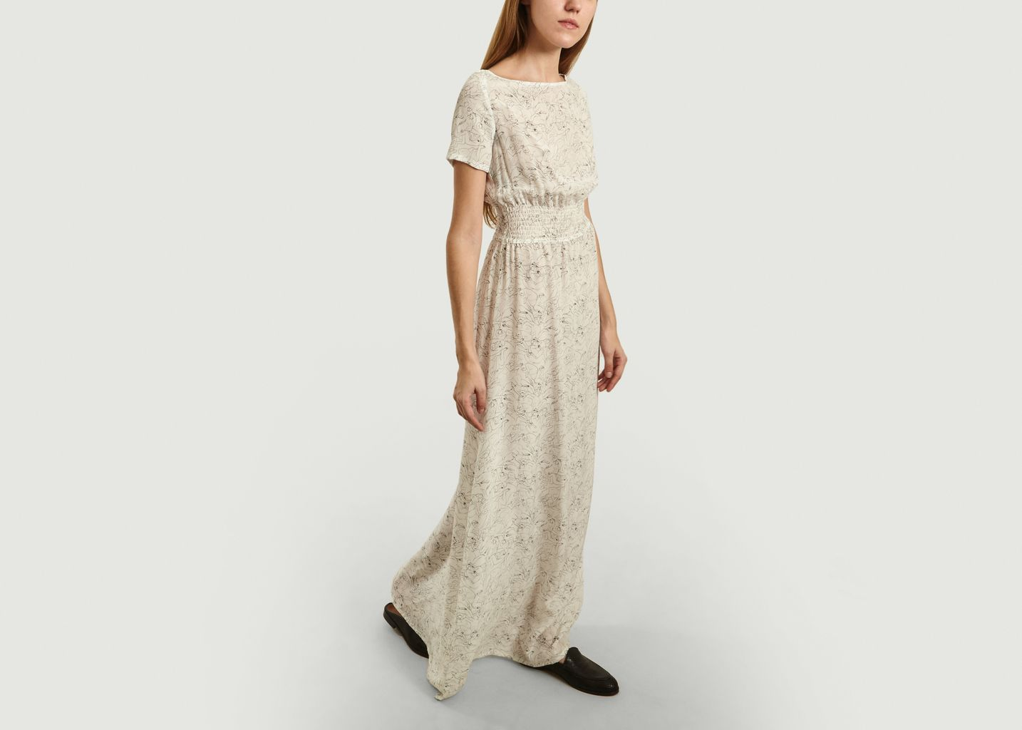 Robe Longue en Soie Marthe - Fête Impériale
