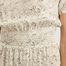 matière Robe Longue en Soie Marthe - Fête Impériale
