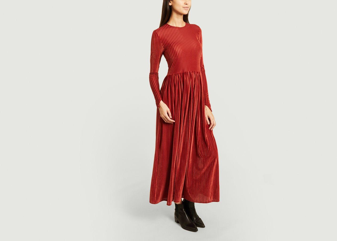 Robe longue en velours - Fête Impériale