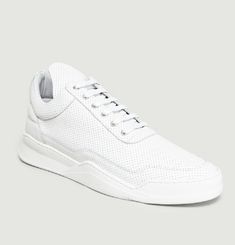 Sneakers Low Top Ghost Nappa Perforated